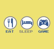 Eat Sleep Game One Piece - Short Sleeve