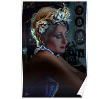 Bride Portrait Poster
