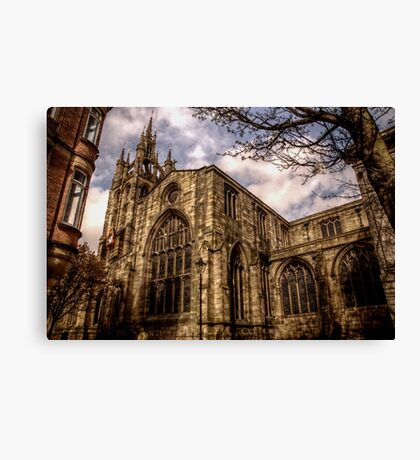 Cathedral Church Of Saint Nicholas Canvas Print