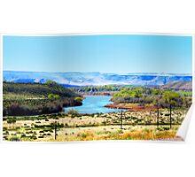 Snake River...King Hill, Idaho Poster