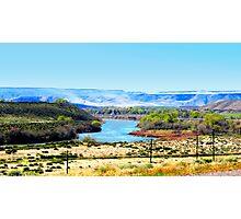 Snake River...King Hill, Idaho Photographic Print