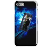 Police box in space iPhone Case/Skin
