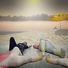 To lay with friends by Adrian Donoghue