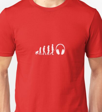 Evolution Headphones Unisex T-Shirt