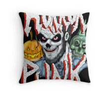 Horror Punk Throw Pillow
