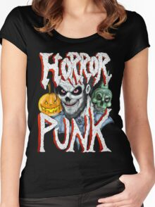 Horror Punk Women's Fitted Scoop T-Shirt