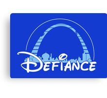 The most defiant place on New Earth! Canvas Print