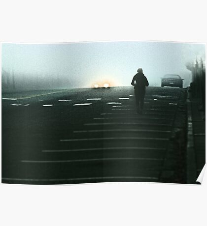 In the early morning rain  Poster