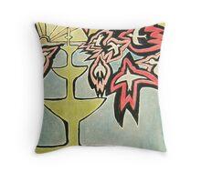 Fire birds 1 Throw Pillow