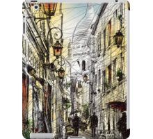 Montmartre 11 in colour iPad Case/Skin