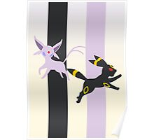 Espeon - Umbreon Poster