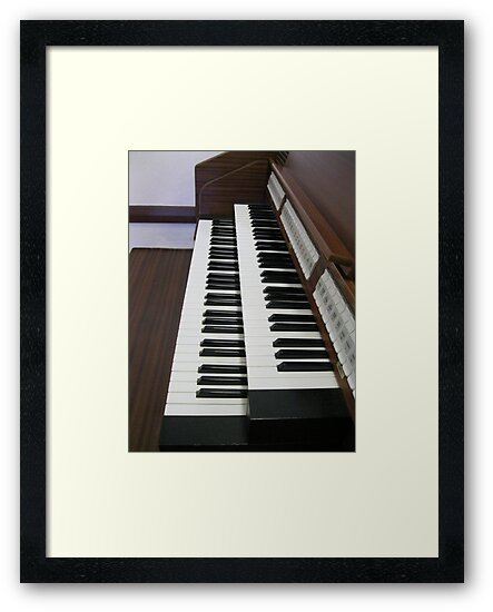 Pulling Out All The Stops - Organ Keyboards and Stops by BlueMoonRose