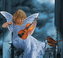 ❤ 。◕‿◕。SWEET MUSIC ANGEL WITH A BIRDS EYE VIEW❤ 。◕‿◕。 by ✿✿ Bonita ✿✿ ђєℓℓσ