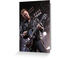 Queens of the Stone Age Greeting Card