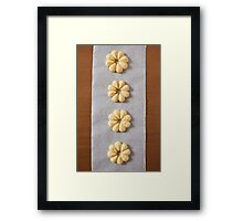 Viennese Biscuits IV Framed Print