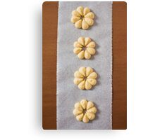 Viennese Biscuits IV Canvas Print