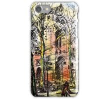 Montmartre 14 in colour iPhone Case/Skin