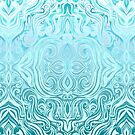 Twists & Turns in Turquoise & Teal  by micklyn