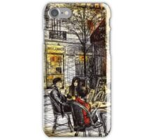 Montmartre 9 in colour iPhone Case/Skin
