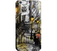 Montmartre 8 in colour iPhone Case/Skin
