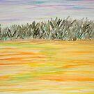 Sunset Field by Valerie Howell