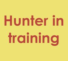 Hunter in Training Kids Clothes