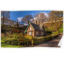 Gardener's Cottage, Princes Street Garden's Poster