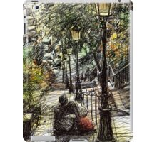 Montmartre 2 in colour iPad Case/Skin