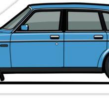 Volvo Brick 244 240 Sedan Brick Blue Sticker