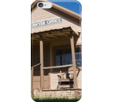 Lawyer Office iPhone Case/Skin