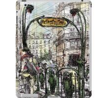 Paris 6 in colour iPad Case/Skin