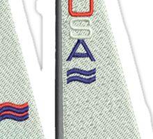 World Runner Sailboat Sticker