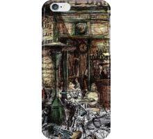 Paris 2 in colour iPhone Case/Skin