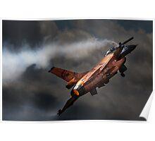 Dutch Demo Team F16 Fighting Falcon Poster