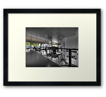 Royston Park Cafe - Inside Out Framed Print