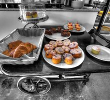 Royston Park Cafe - Trolley by Dean Wiles