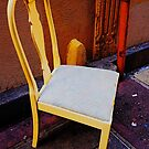 Old Chair in the Alley by Barbara Wyeth