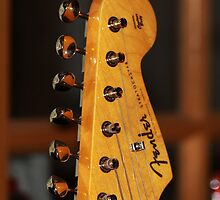 Guitar Headstock by cthomas888