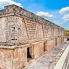 Uxmal - The Nuns Quadrangle by Mark Tisdale