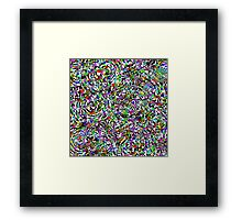 Mysterious Smiles by Mark Compton Framed Print