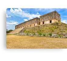 Palacio del Gobernador - Uxmal, Mexico Canvas Print