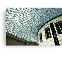 Inside British Museum, London Canvas Print