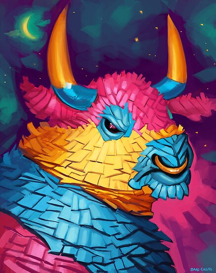 Bull Piñata by Brad Collins