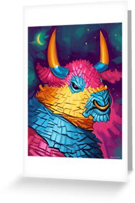 Bull Piñata by Brad Collins
