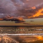 Sunset colours and reflections by Ralph Goldsmith