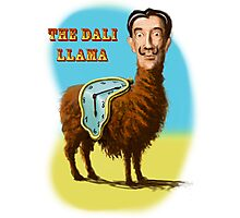 All hail the mysterious Dali Llama Photographic Print