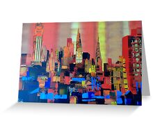 Manhattan 0191 Greeting Card