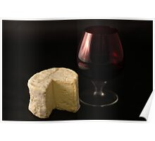Chaource & Port Poster