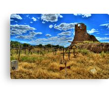 Sacred Burial Grounds Of Taos Pueblo Canvas Print