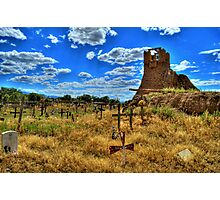 Sacred Burial Grounds Of Taos Pueblo Photographic Print